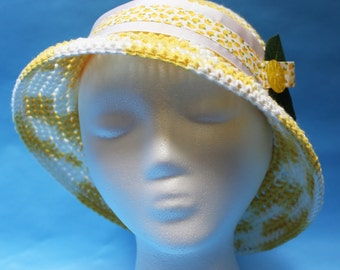 Bucket Hat, Bucket of Lemonade Hat, Summer Hat, Resort Hat, Sun Hat, Sun Protection, Suns Hats, Mother's Day Hat