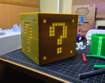 Mario Light Up Question Box