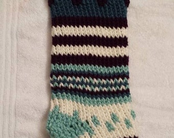 Hand Knitted Stocking