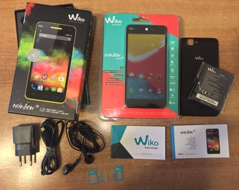 Mobile Phone WIKO RAINBOW 4G Android Black/White NEW