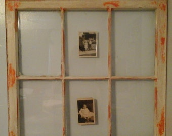 Window Sash Picture Frame