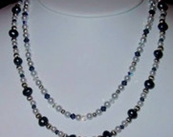 Double Tier Necklace - Handmade