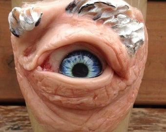 OOAK coffee cup EYE