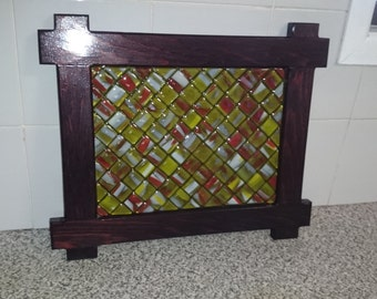 Fused Glass Wall Hanging