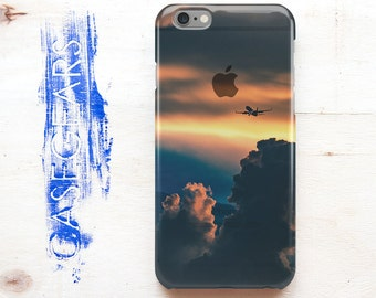 iPhone 6s Phone Case Sunset iPhone 6s Plus Case Sky Clouds  iPhone 6 Case iPhone 6 Plus Phone Case Clear 5s iPhone Case Protective CG0059