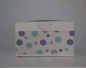 Blue Spotty Soap Gift Box