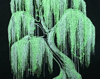 Glow Weeping Willow Tree