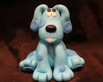 Blue's Clues Blue Cake Topper