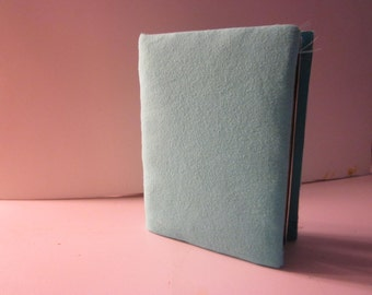 Blue Fabric 4 x 6 Photo Album