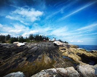 Pemaquid Point Maine Print