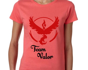 Pokemon Go - Represent Your Team! - Team Valor