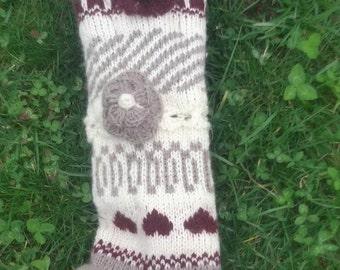 Knitt socks,house socks,woman knit socks