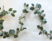 FRESH Six-Foot Thinned Seeded Eucalyptus Garland