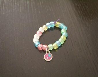 Bead Bracelet (Peace)