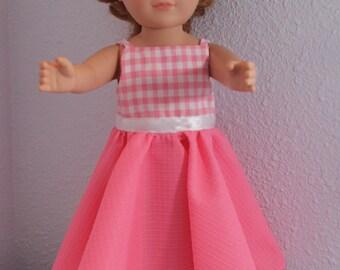 Pink dress with shrug