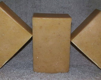 Goat's Milk Soap - Lemongrass with Oatmeal