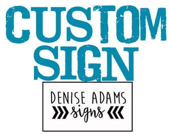 Susie S | Custom Sign