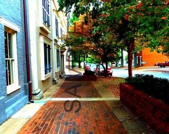 Downtown Street Photograph