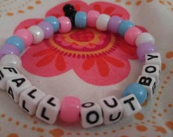 Fall Out Boy Kandi Bracelet