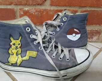 Pokemon Converse- Made to Order