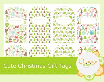 Cute Christmas Gift Tags - Christmas Gift Labels - Gift Tags