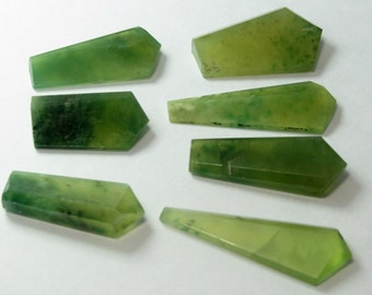 7 Pieces Hydrograsuller Garnet Crystals