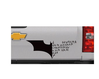 Batman and Joker decal | Batman | Joker | haha