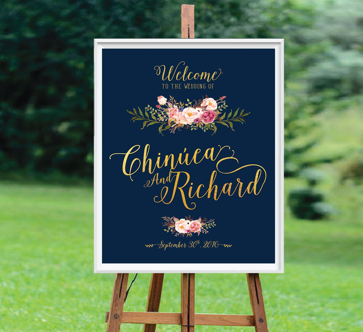 Wedding Welcome Sign Welcome Wedding Sign Wedding Signs