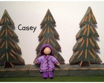 Little Sister Casey - Pocket Doll - Bendy Doll