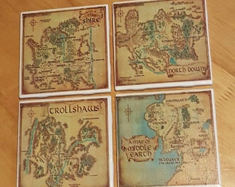 Lord of The Rings Coasters