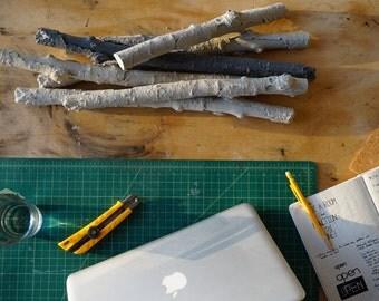Sticks.