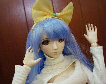 Yellow Ribbon BJD Headband