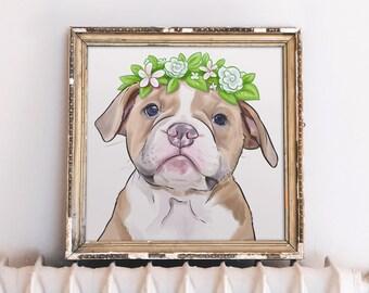 Pet Loss Gift, Pet Memorial Portrait, Pet Death, Pet Loss, Pet Sympathy, Sympathy Gift
