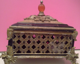 Ornate box with lid