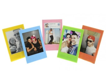 Set of 5 Color frames for Fujifilm Instax Mini photo