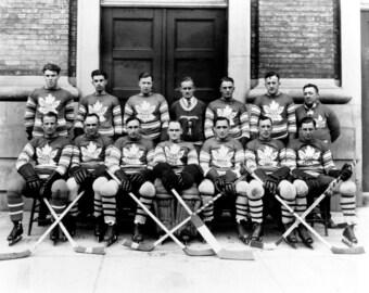 1928 Toronto Maple Leafs Team Photo 8X10