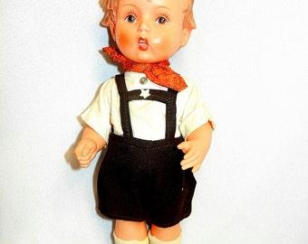 Vintage Goebel Hummel Rubber Doll
