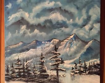 White Snow Winter