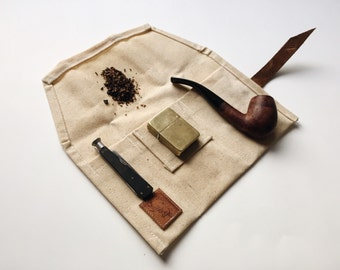 Waxed Canvas Pipe Roll