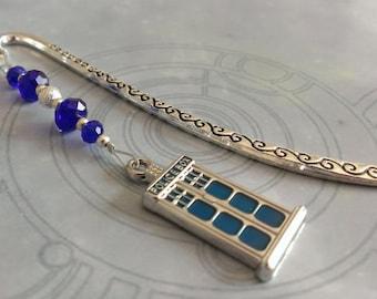Doctor Who bookmark - TARDIS Policebox bookmark