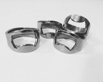 1 pc Stainless Steel Ring Bottle Opener
