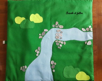 Felt play mat-Grass