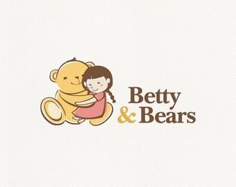 Teddy bear logo – Etsy