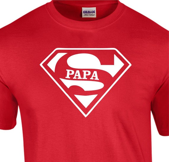 super papa t shirt birthday shirt fathers day gifts for pap. Black Bedroom Furniture Sets. Home Design Ideas