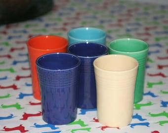Set of 6 - 5 oz. Fiestaware Juice Tumbler (Original)
