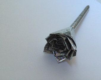 Silver Flower pen