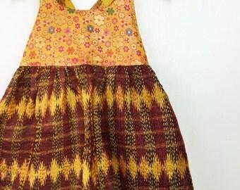 7 Years Pocket Sari Maxi Dress, Bohemian Kid Fashion, Boho Kids, Girls Maxi Dress, Hippie Dress, Kids Maxi, Hippie Flower Girl