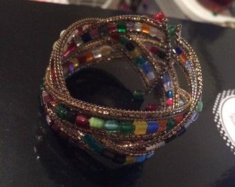 Multi color bracelet
