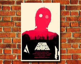 """Star Wars Movie Poster - 11"""" x 17"""" - #0148"""