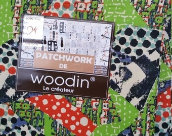 Woodin Fabric, Patchwork de Woodin sold by the yard